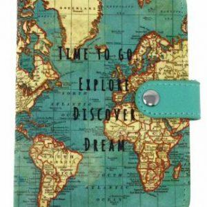 Paspoorthoes wereldkaart