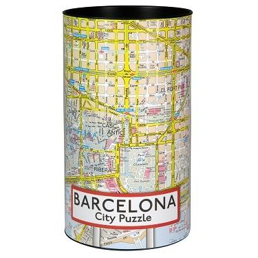 city puzzel Barcelona