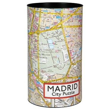 city puzzel Madrid