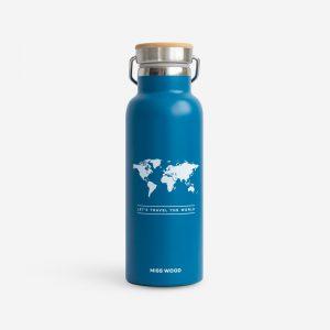 Drinkfles blauw