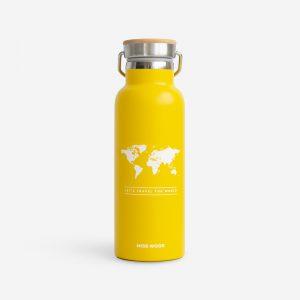 Drinkfles geel