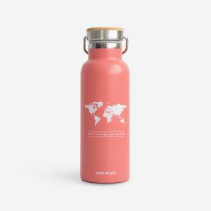 Drinkfles Roze