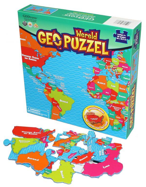 Puzzel Wereld kinderen